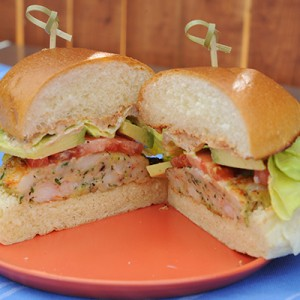 Asset Name : KC0211H_136402_392292.JPG Brand : Food Network Copyright Notice : �2014,Television Food Network, G.P. All Rights Reserved Description : Katie's Shrimp Burger with Old Bay Mayo, as seen on Food Network's The Kitchen. Episode Number : 0211H Keywords : Food Network, The Kitchen, Katie Lee, Shrimp Burger with Old Bay Mayo Orientation : Landscape Provider : Production Company Rights Usage Terms : OWNED - No limitations on time/term, territory or media as long as the images are only used in direct promotion of the related network(s), show and/or talent. Series Number : 200 Show Code : KC0211H Show Title : The Kitchen (KC) Source : BSTV Entertainment